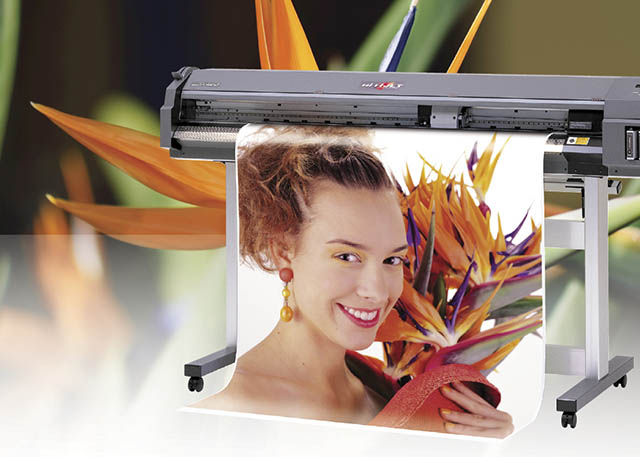 1998 Roland introduces the world's first 6-color wide format inkjet to print 1440 dpi, the Hi-Fi JET FJ-50.