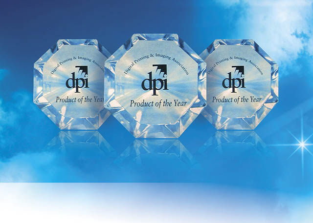 2009 Roland adds to its list of accolades with an unprecedented three DPI Product of the Year Awards. The VersaCAMM, AdvancedJET and Eco-SOL MAX Metallic Silver Ink take home honors.