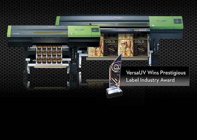 "2010 VersaUV makes the headlines again.  First with the new 54"" LEC-540 and next by winning the prestigious Label Industry Global Award for New Innovation."