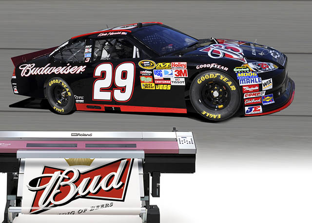 2010 Roland partners with legendary NASCAR champions Richard Childress Racing.