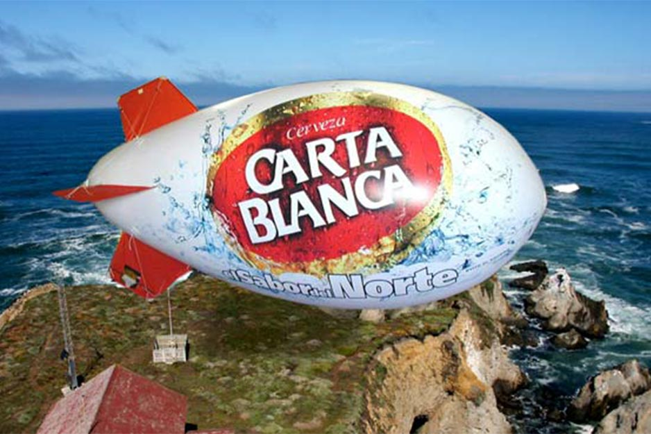 Above and Beyond Roland AJ-1000 Carta Blanca blimp