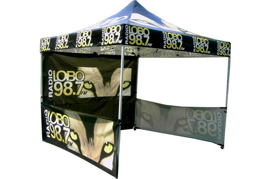 Above and Beyond Roland AJ-1000 radio tent