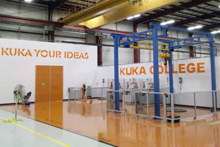 City Graphics VersaCAMM VS graphics for Kuka Robotics