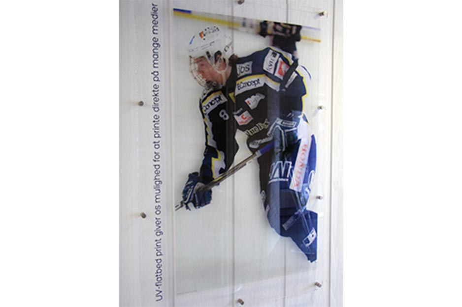 LeeSign VersaUV LEJ-640 Ice Hockey Indoor Signage