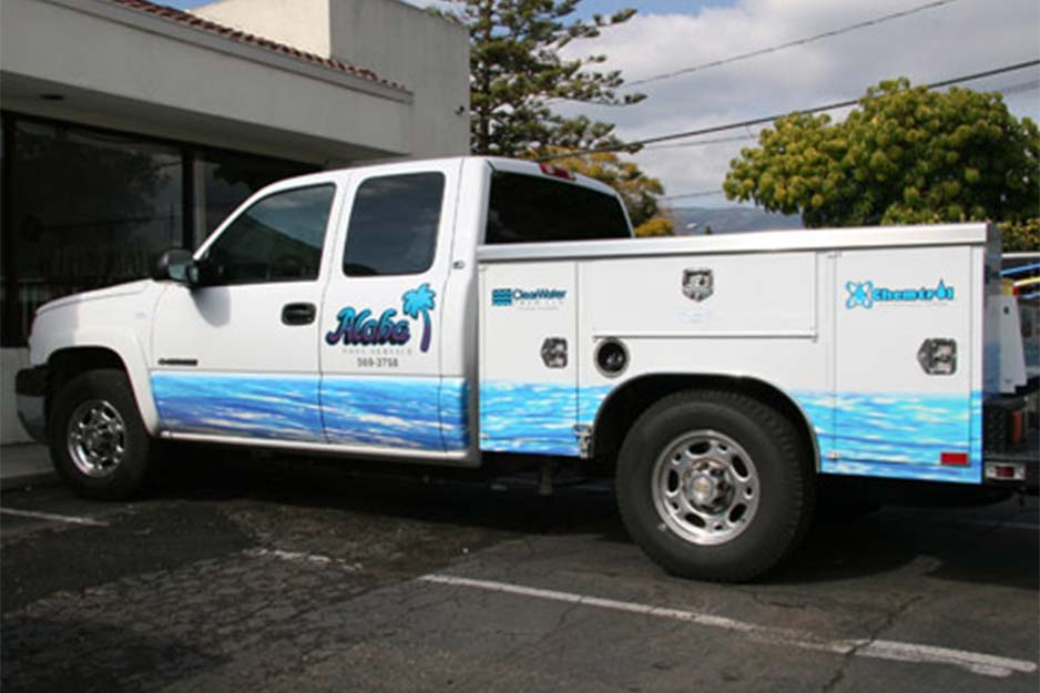 Nu Image Signs and Graphics Aloha Pool