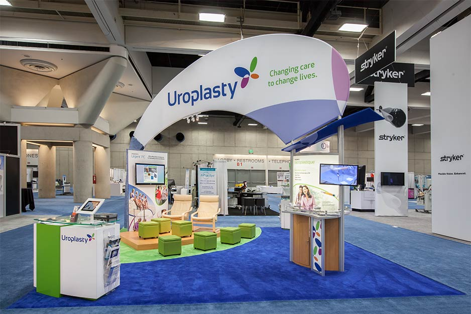 Orbus Exhibit & Display Group Uroplasty fabric structure