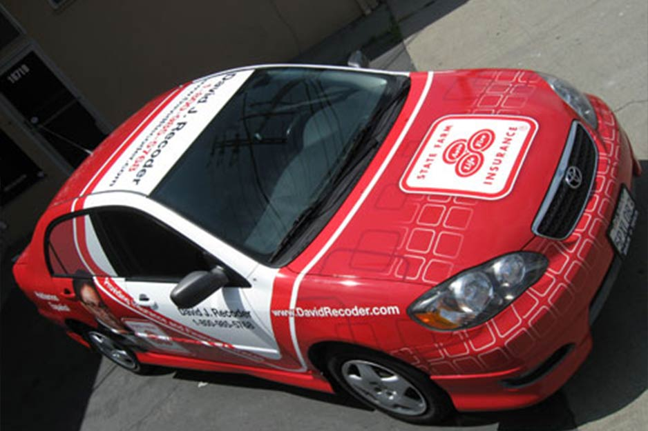 Sam's Signs Roland SOLJET PRO vehicle wrap