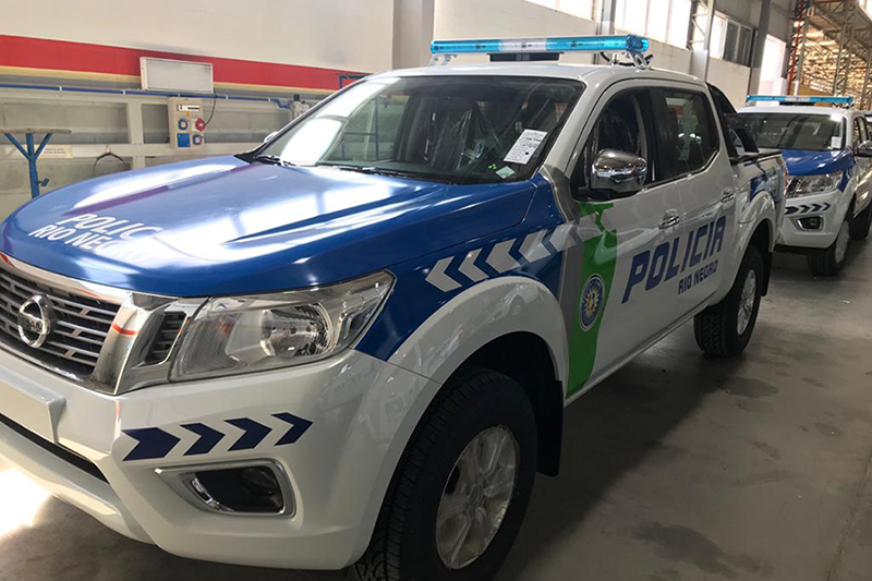 Beta uses its Roland DG wide-format digital printer/cutters and printers to produce wraps like this one for the police and other emergency vehicles.