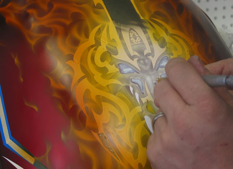 Mike Learn Airbrush & Design