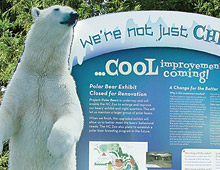 cool zoo signage