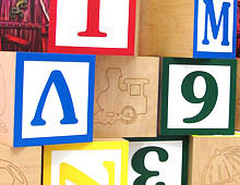 oversized alphabet blocks