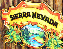 Sierra Nevada bar sign