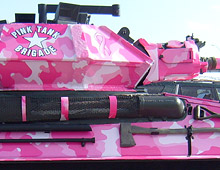 army tank for the cure