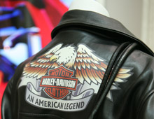 leather Harley Davidson apparel