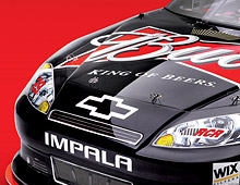 Nascar race car wraps