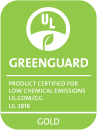 GREENGUARD Gold gecertificeerd