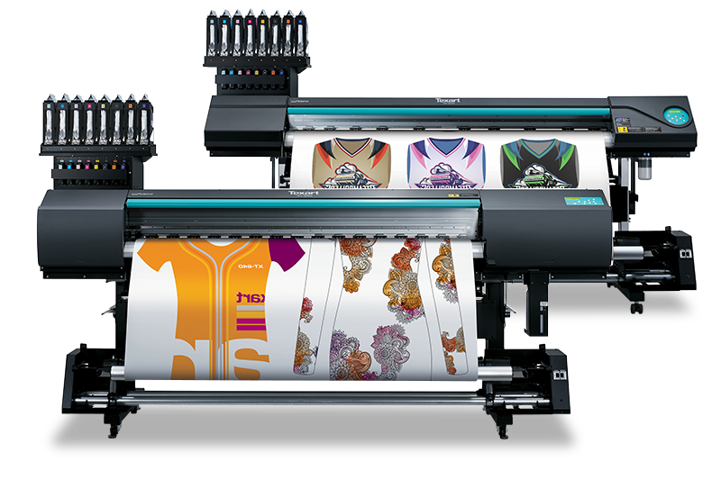 Texart dye sublimation printers