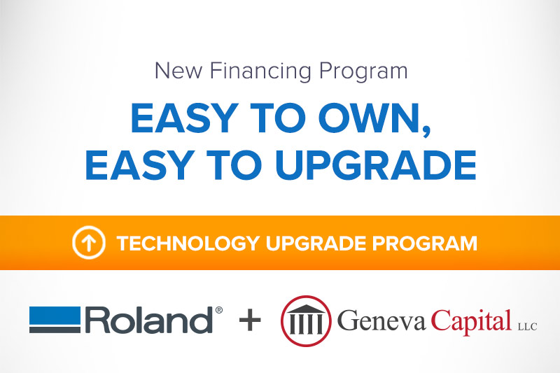 New Financing Program - Easy to Own, Easy to Upgrade