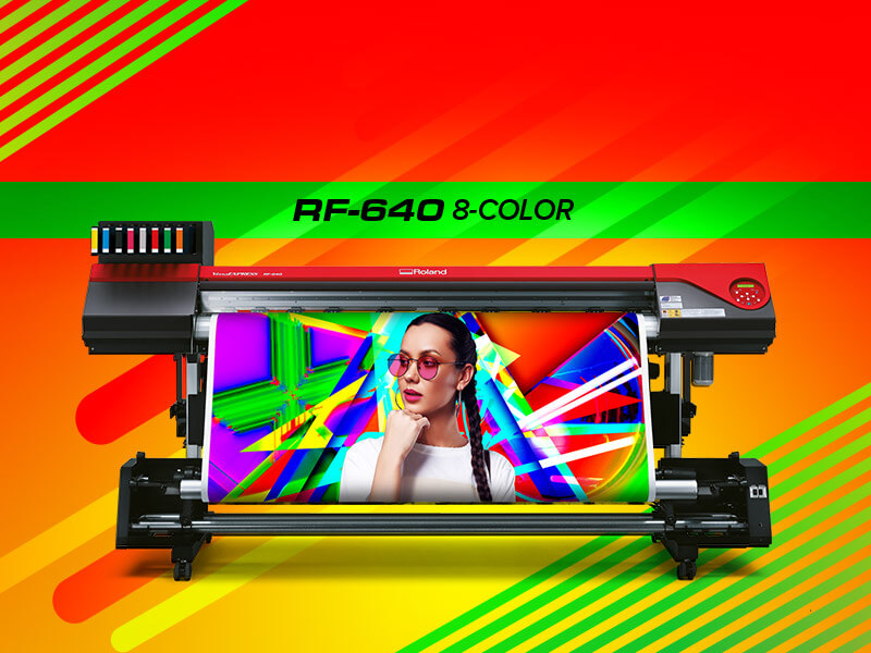 RF-640 8 Color Printer