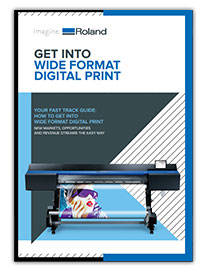 Get Into Wide Format Digital Print Icon