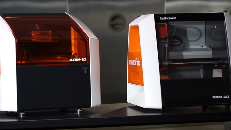 monoFab series ARM-10 Desktop 3D Printer SRM-20 3D Mill