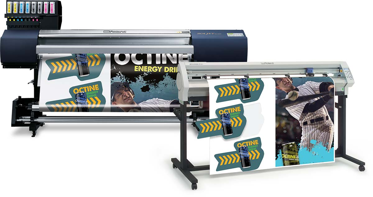 GX PRO Vinyl Cutter with Large Format Printer