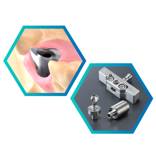 Abutment Kit (AK-1) Mill Custom Titanium Abutments