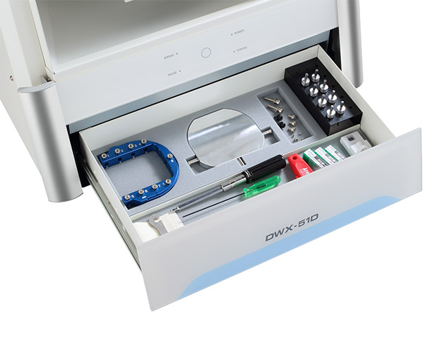 DWX-51D easy access tool drawer