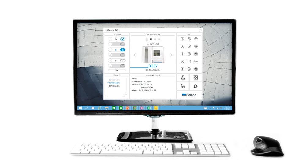 Monitor VPanel