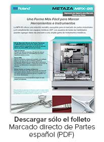 MPX-95 Impact Printer DPM Brochure Spanish