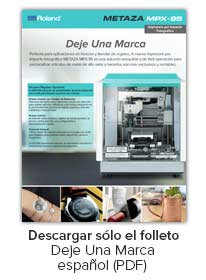 MPX-95 Impact Printer Gift Brochure Spanish