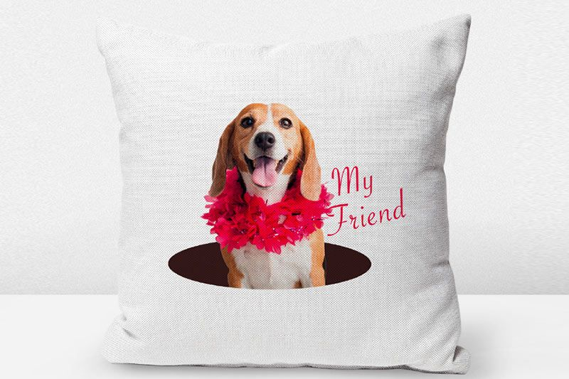 Sublimate onto Pillows and Decor