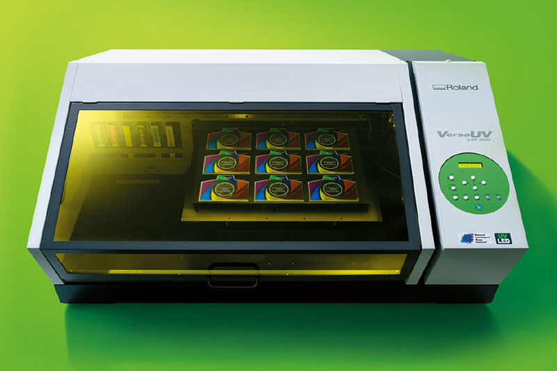 VersaUV LEF-200 Benchtop Printer