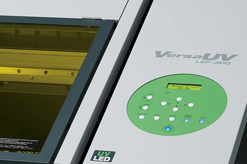 "VersaUV LEF-300 30"" flatbed printer"