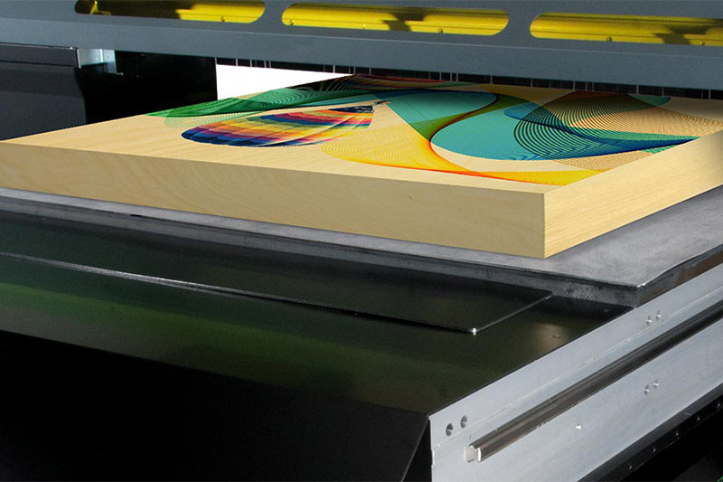 VersaUV LEJ-640FT flatbed UV printer