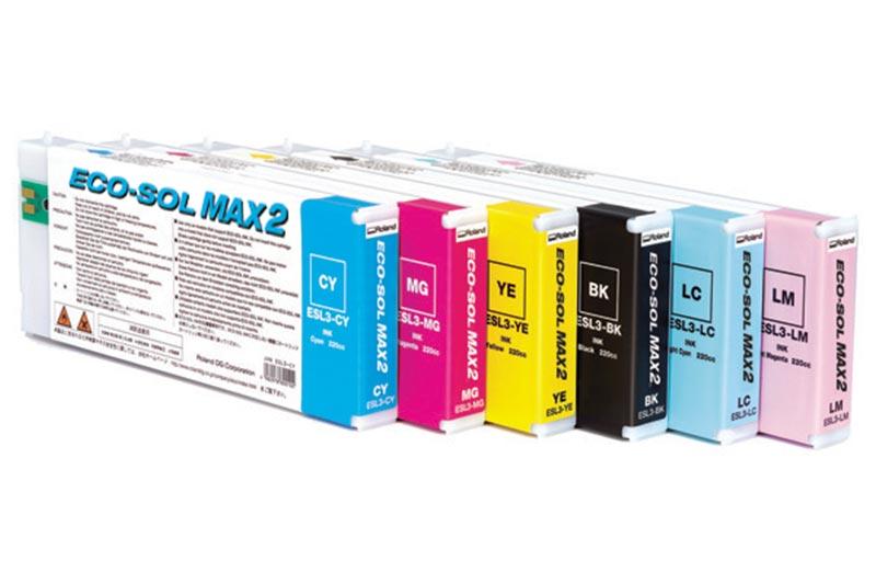 Eco-Sol MAX 2 Inks