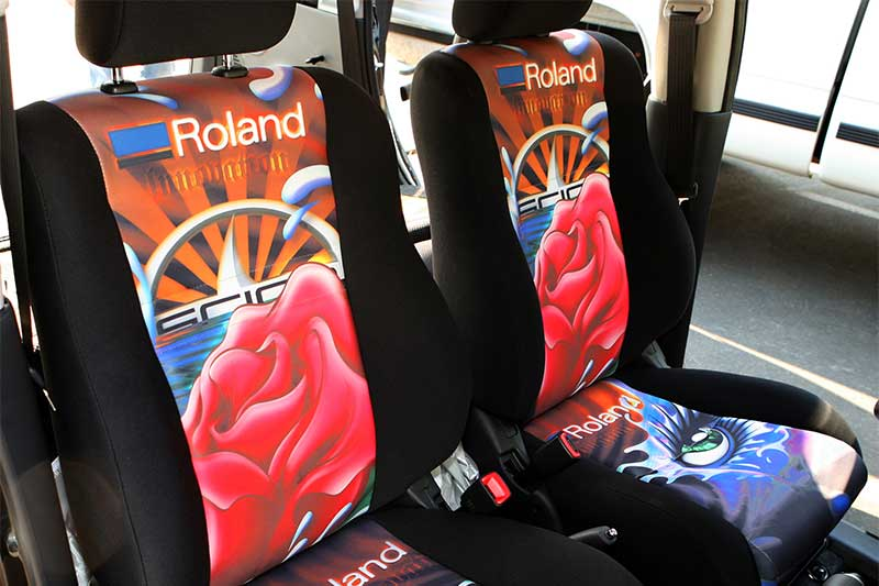 Texart RT-640 Dye-Sublimation interior seats