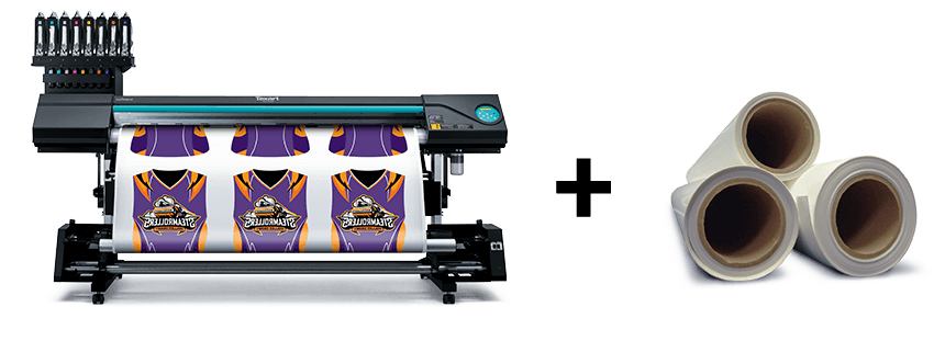 Texart RT-640 Dye-Sublimation Printer and Texart Transfer Paper