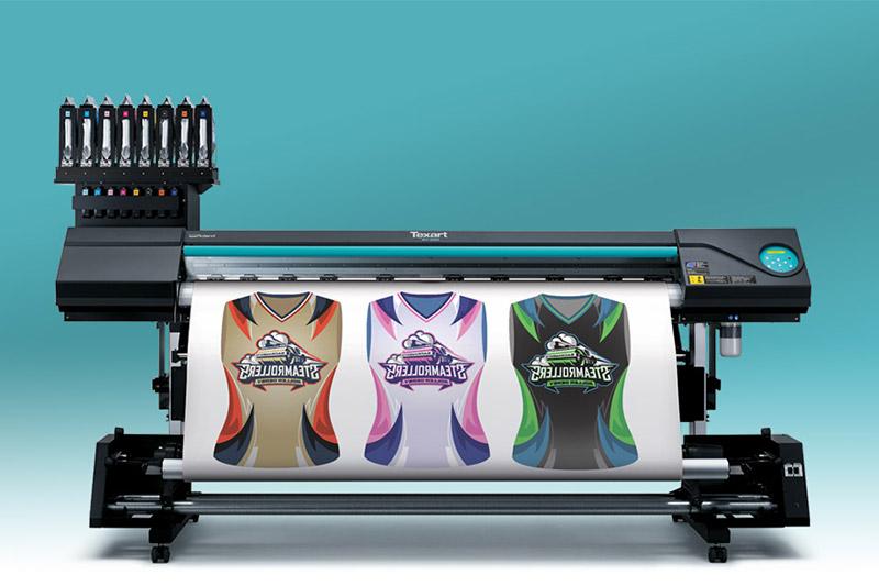 Dye Sublimation Transfer Printer Texart Rt 640 Roland Dga