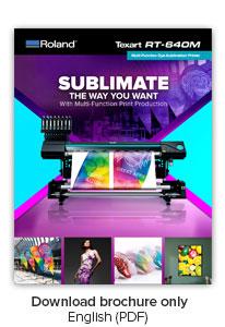 Texart RT 640M Multi-Function Dye Sublimation Printer