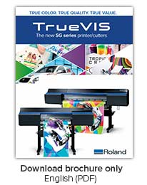 TrueVIS SG Series Printer/Cutters Brochure