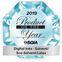 2019 Product of the Year - Digital Inks - Solvent/Eco-Solvent/Latex