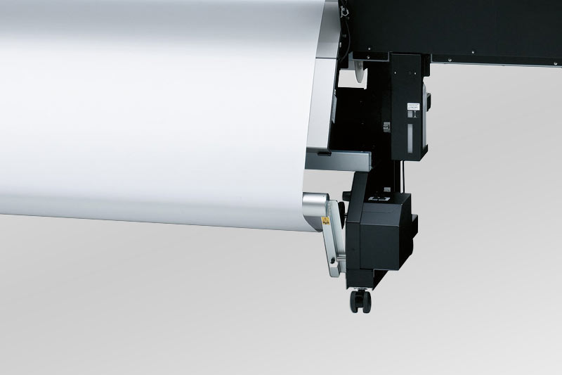 Large Format Printer Cutter With Metallic And White Ink