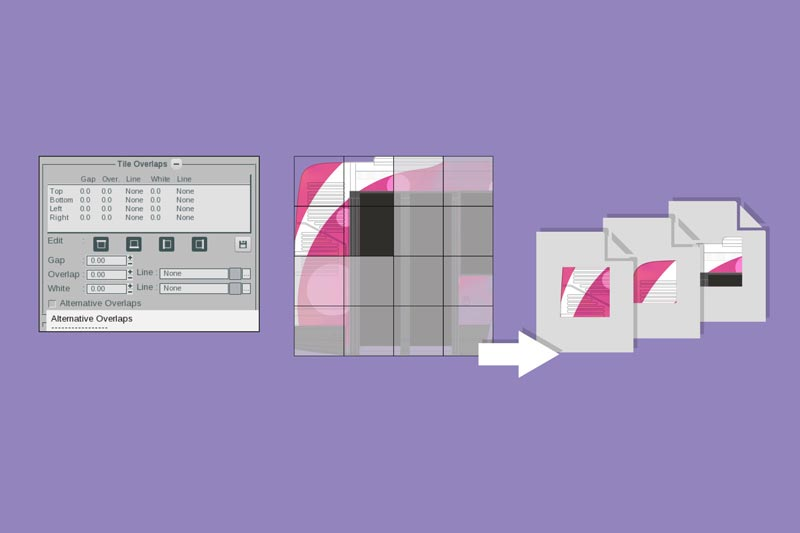 Create documents and PDFS for print production in RIP