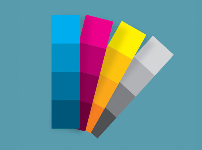 RPS software includes all RAL, HKS and Pantone color swatches