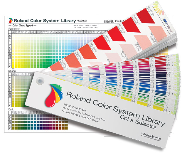 Roland Color System Library