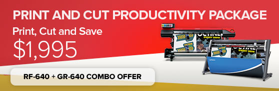 Print & Cut Productivity Package - RF & GR Combo