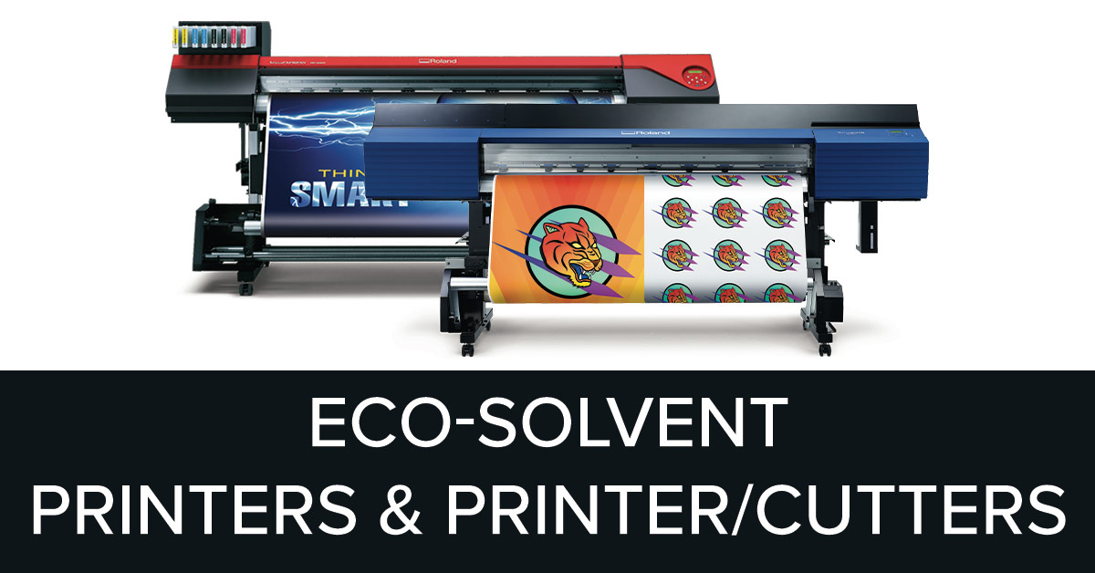 Print And Cut With Roland Printcut And Printers And Cutters
