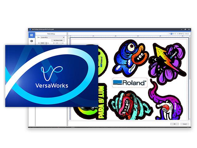 Versaworks 6 Software Roland Dga