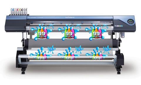 Versacamm Vs 640 64 Eco Solvent Inkjet Printercutter Roland Dga